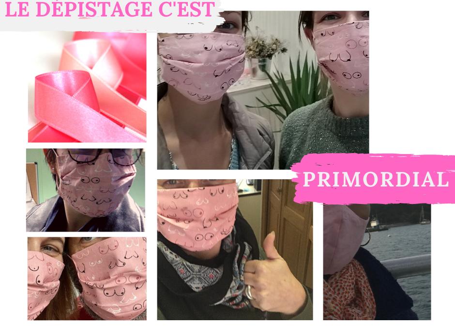Octobre Rose – Ensemble contre le cancer du sein.