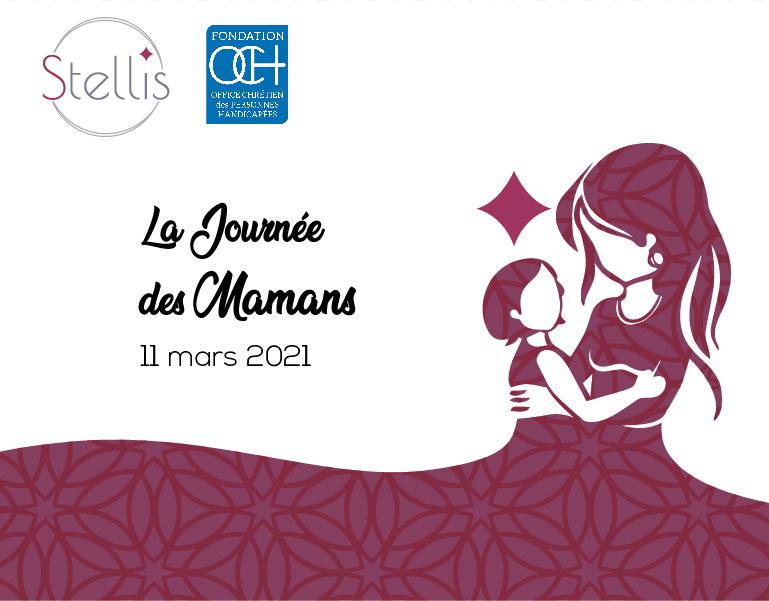 Journée des mamans d'un enfant malade ou handicapé- 11 mars 2021 – organisée par OCH